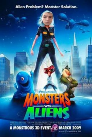 The critic gives you his take on Monsters vs. Aliens.