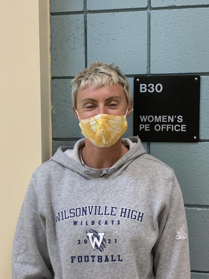 Ms. Beko, a teacher at Wilsonville High School