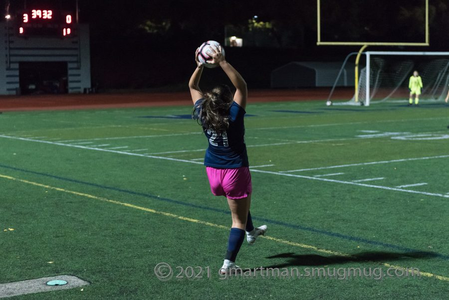 Bri Crane throws the ball in helping Wilsonville in a 5-0 victory.