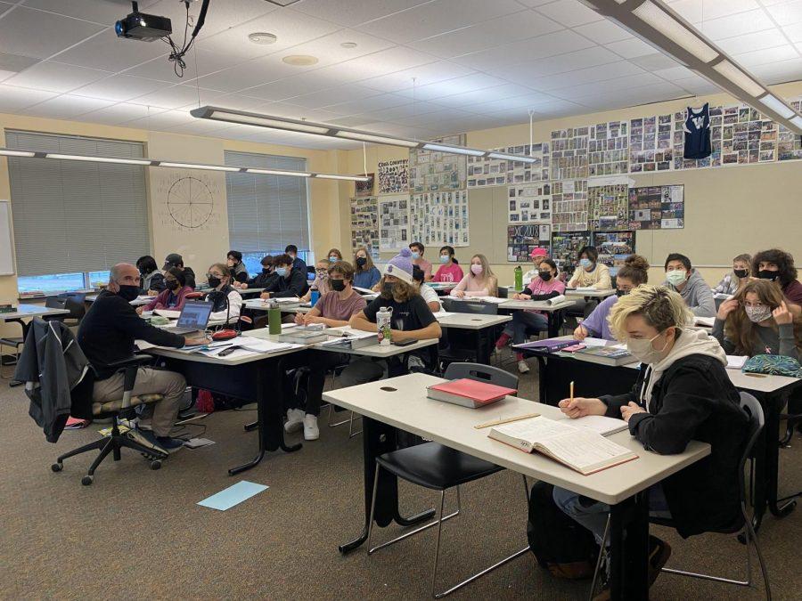 Mr. Barkleys AP Calculus AB class.